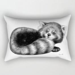 Cosmic Red Panda Rectangular Pillow