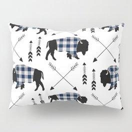 Blue Buffalo Plaid Pillow Sham