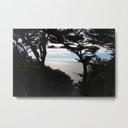 Shadows in the Bay - San Francisco, CA Metal Print