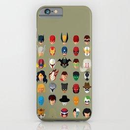 SuperHeroes iPhone Case