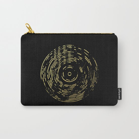 Gold Disc Carry-All Pouch