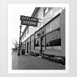 Oakland Tavern Art Print