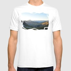 See You Tomorrow White Mens Fitted Tee MEDIUM