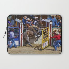 The Release - Rodeo Bronco Riding Laptop Sleeve
