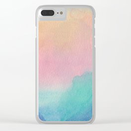 Sunset to Whangamata Clear iPhone Case