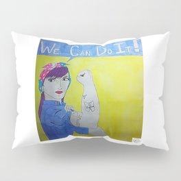 Transgender Rosie the Riveter Pillow Sham
