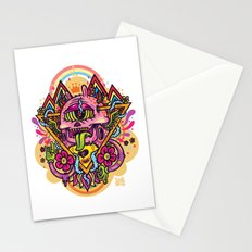 Triangular Gardens Stationery Cards