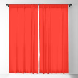 #Bright red #scarlet Blackout Curtain