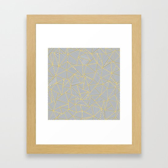 Ab Outline Gold and Grey by projectm