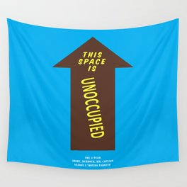 Howlin' Mad Murdock's 'Unoccupied Space' shirt Wall Tapestry