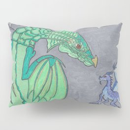Ashes and Dragons Pillow Sham