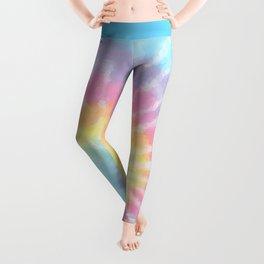 Pastel Tie Dye Leggings