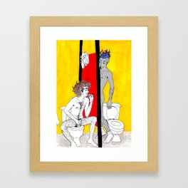Gloriosos Framed Art Print