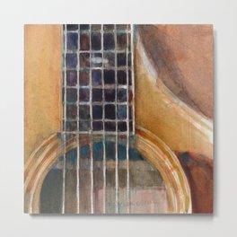 Taylor Acoustic Guitar Metal Print