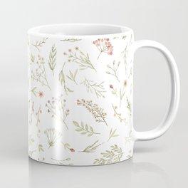 pastel flower design Coffee Mug