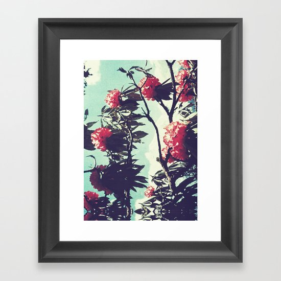 Turquoise Jewels Framed Art Print