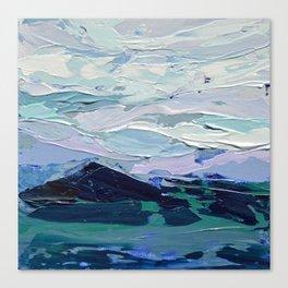 Blue Ridge Peak Canvas Print
