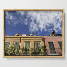 New Orleans French Quarter Sky Serving Tray