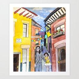 Callejon de la Alma Art Print