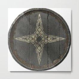 Skyrim dawnstar the pale guards shield crest elder scroll V elder scroll 5 Metal Print