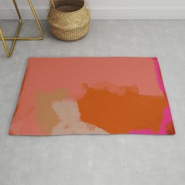 Double soul one body Rug
