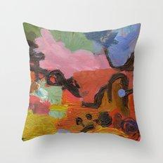 ColourAbstract Throw Pillow