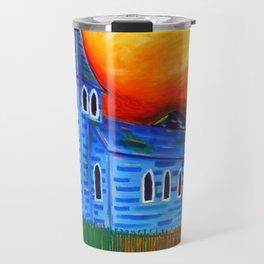 Churchly Blues Travel Mug
