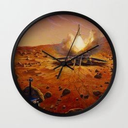 622. Launching Samples Home from Mars Wall Clock