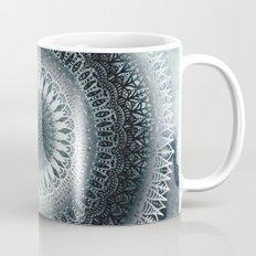 WINTER LEAVES MANDALA Coffee Mug
