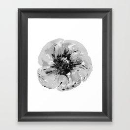 Graphic Poppy Framed Art Print