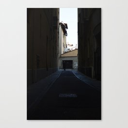 man in the square Canvas Print
