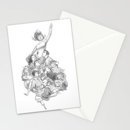 Lifted Stationery Cards
