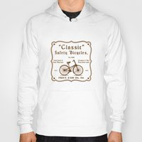 bicycles Hoodies featuring Classic Safety Bicycles by eqbal