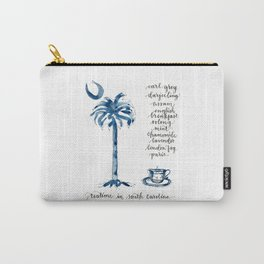 Teatime in South Carolina Carry-All Pouch