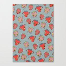 Wild Strawberries - Sweet Canvas Print