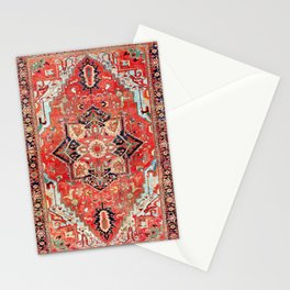 Heriz Azerbaijan Northwest Persian Rug Print Stationery Cards
