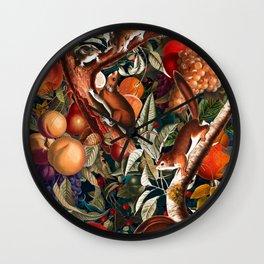 Magical Garden I Wall Clock
