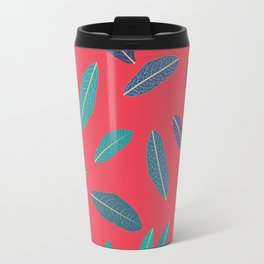 Pink Fall Travel Mug