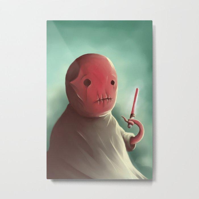 Cuter than master Yoda Metal Print