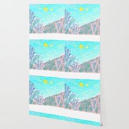 TWO YELLOW BUTTERFLIES Wallpaper