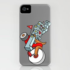 Hot Wheeling Robot Love iPhone (4, 4s) Slim Case