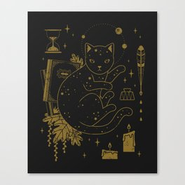 Magical Assistant Canvas Print