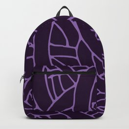 Microcosm in Purple Backpack