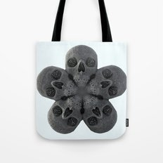 Skull Mandala Test No.2 Tote Bag