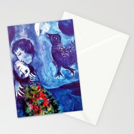 Marc Chagall, Le Paisage Bleu 1949 Artwork, Posters Tshirts Prints Bags Men Women Kids Stationery Cards