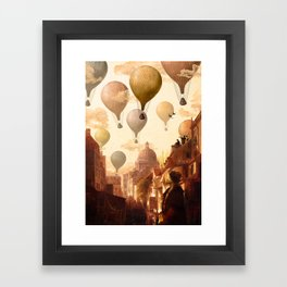 Voyage to the Unkown Framed Art Print