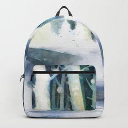 December Woodland Backpack