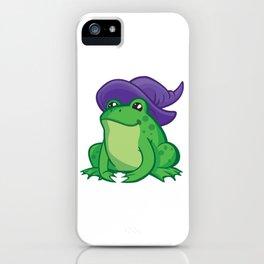 Cartoon Frog Wizard iPhone Case
