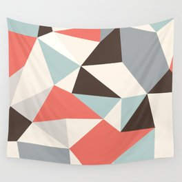 Mod Hues Tris Wall Tapestry