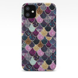 REALLY MERMAID - JEWEL SCALES iPhone Case